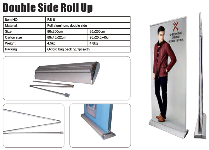 Double Side Roll Up