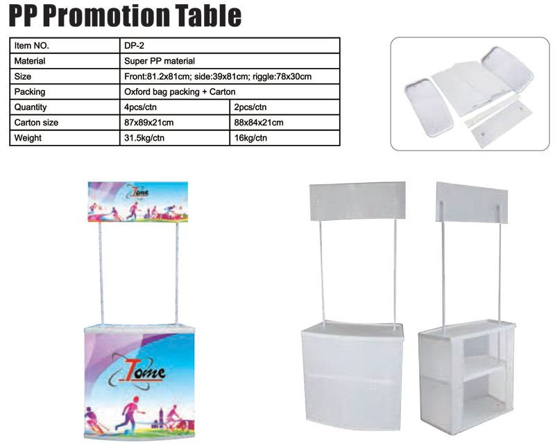 PP Promotion Table