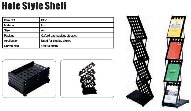 Hole Style Shelf