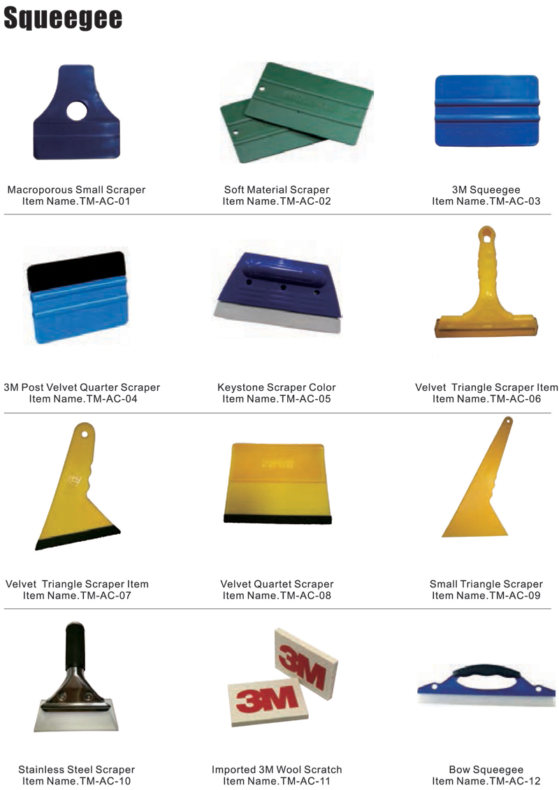 Grommet Machine Squeegee